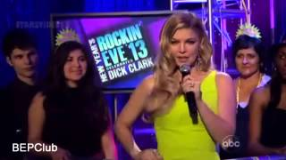 Fergie Moments at Dick Clark's New Year's Rockin Eve