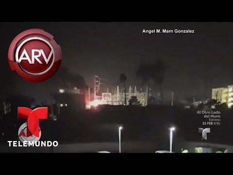 Puerto Rico sufrió un apagón en el érea metropolitana | Al Rojo Vivo | Telemundo
