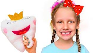 Ястася и история про выпавший зуб и зубную фею
