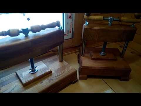 Пресс деревянный , для переплётов