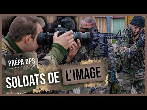 Combat Camera Team - PrépaOps des soldats de l'image