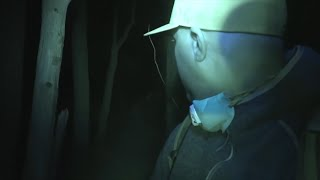 (ALONE) HAUNTED SUICIDE FOREST (Ghost Hunter Attacked)