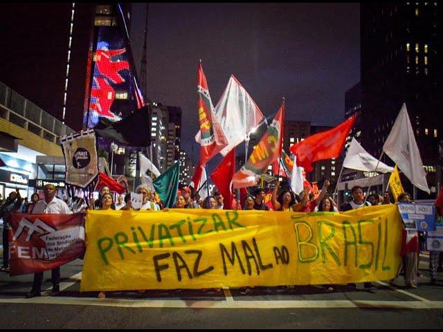 Greve dos Petroleiros - Paulista recebe movimentos em defesa da Petrobrás