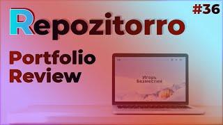 Repozitorro #36 - Портфолио, или сайт тур-агенства?