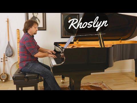 Rhoslyn - Soft Contemporary Classical Solo Piano Music - David Hicken - Faeries