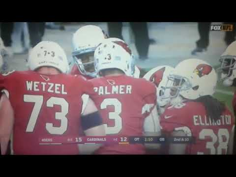 San Francisco 49ers vs Arizona Cardinals crazy ending in OT