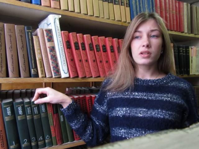 Изображение предпросмотра прочтения – ЕвгенияВасильева читает произведение «Лиличка! (Вместо письма)» В.В.Маяковского