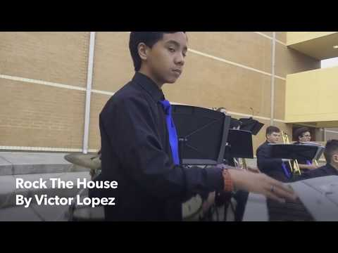 Rock The House by Victor Lopez (Jazz Band Cover)