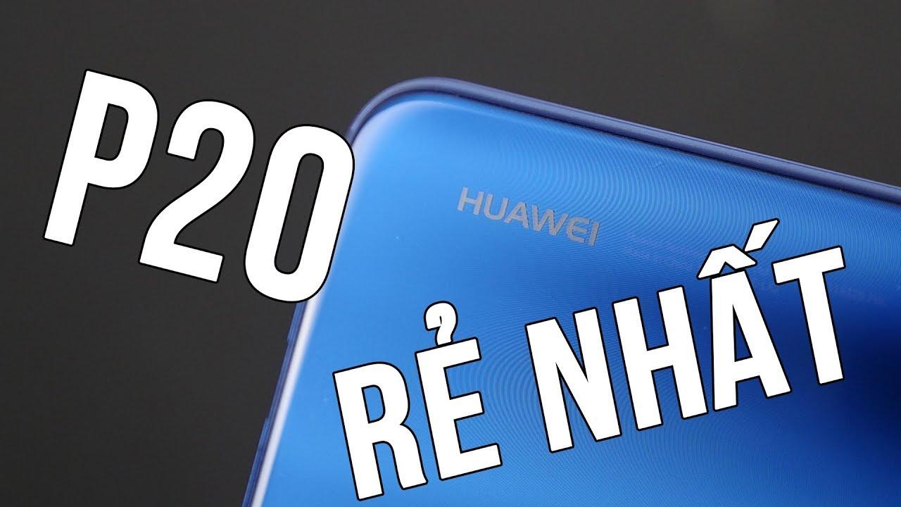 Chiếc Huawei P20 giá rẻ nhất trong bộ 3 mới được ra mắt!
