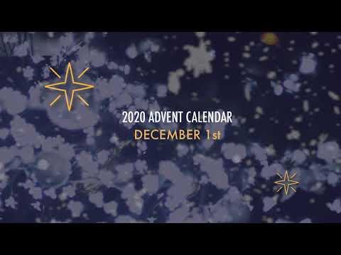1 December Lichfield Cathedral Advent Calendar 2020