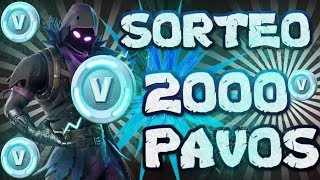 SORTEO 2000 PAVOS iNFO WAITING NEW SKIN848 VICTORIAS 18K KILLS CAMERA IN HANDS FORTNITE