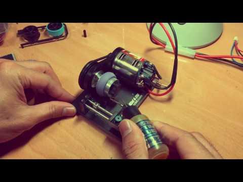 Tamiya mini4wd Trimming machine