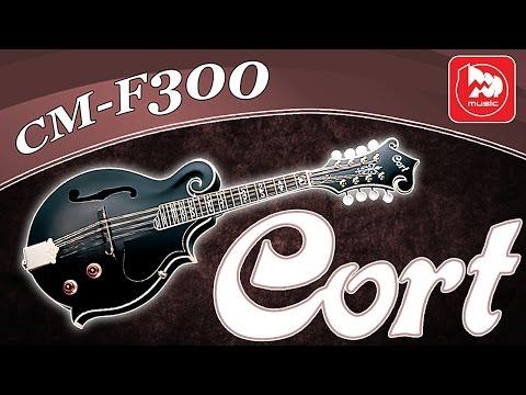 Электромандолина CORT CM-F300E (играет Ольга Егорова)