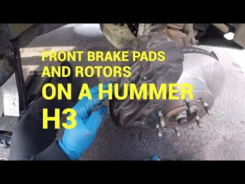 QuickFix Auto- 2006 Hummer H3  Front Brake Pads and Rotors : Philadelphia