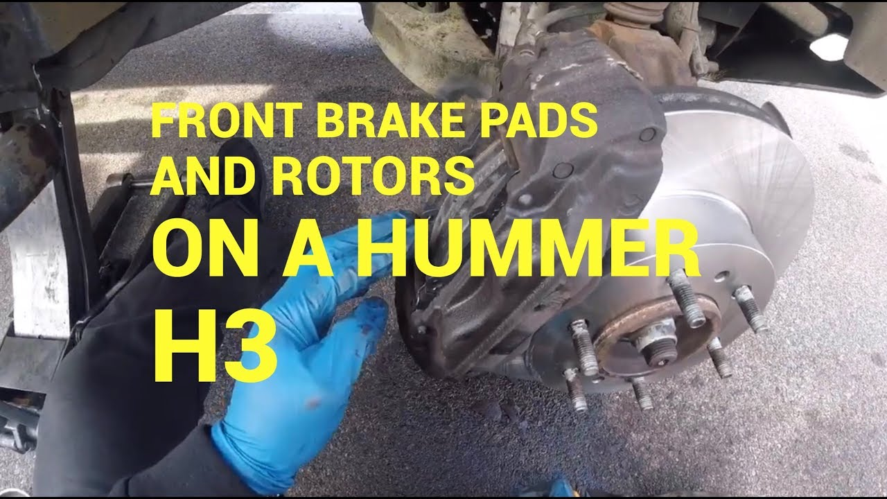 QuickFix Auto- 8 Hummer H8 Front Brake Pads and Rotors : Philadelphia | hummer h3 brake pads