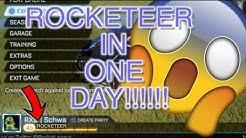 I GOT ROCKETEER IN ONE DAY!!! - Rocket League Exploit