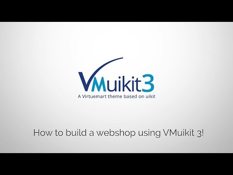 VMuikit - How to build a webshop with Joomla, Virtuemart, YOOtheme and VMuikit (Complete Tutorial)