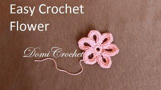 How to crochet easy flower