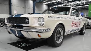 1965 Shelby Mustang GT350 Fastback (LHD) -  2017 Melbourne Nov Auction - 'Ian Cummins Collection'
