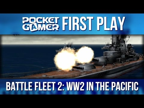 Battle Fleet 2: WW2 in the Pacific - iPad First Gameplay - PocketGamer.co.uk