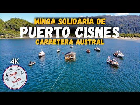 MINGA DE PUERTO CISNES 2019   CHILE   4K   Diego Y Karola