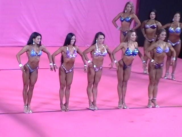 Fisicoculturismo Panamericanos Lima 2019 - Fitness damas (C)