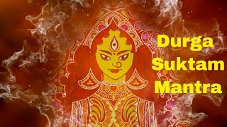 Durga Suktam - Powerful Vedic Mantra to Remove Obstacles | Peaceful Durga Mantra, Sacred Chant