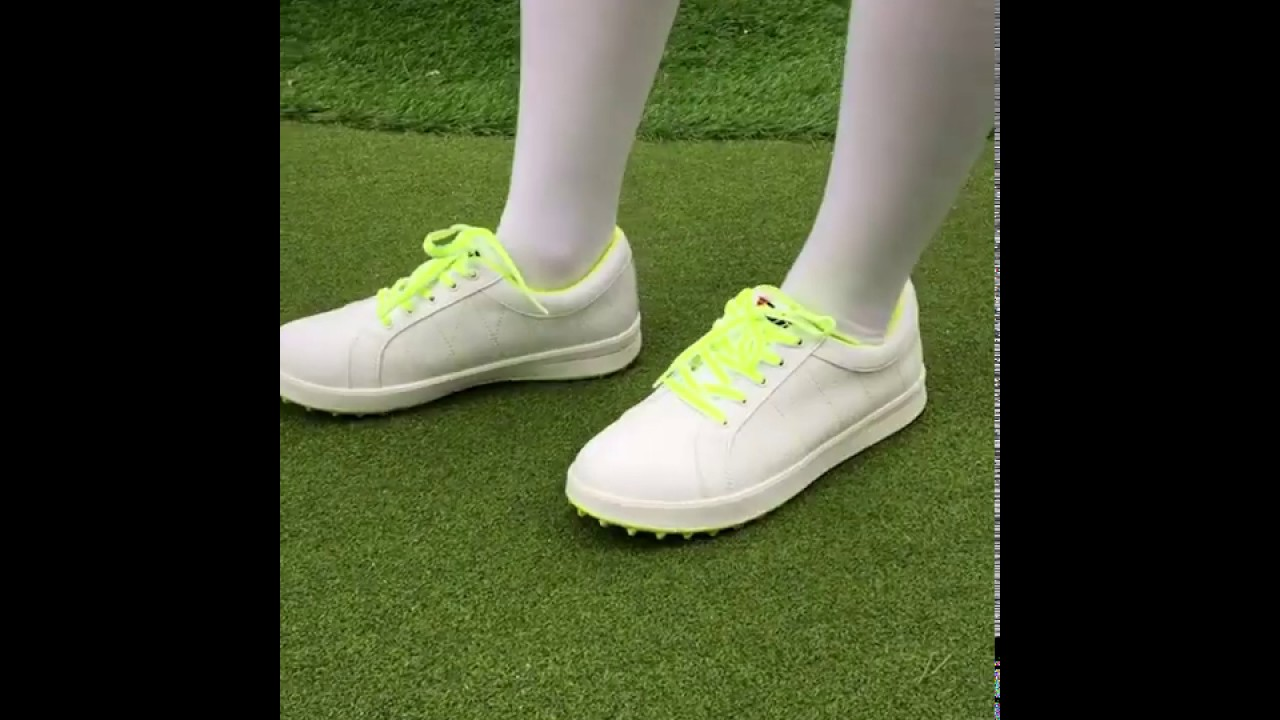 PGM Golf Microfiber Leather Breathable Sneakers for Women
