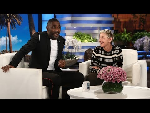 Idris Elba Chats About (Not) Working with Ellen