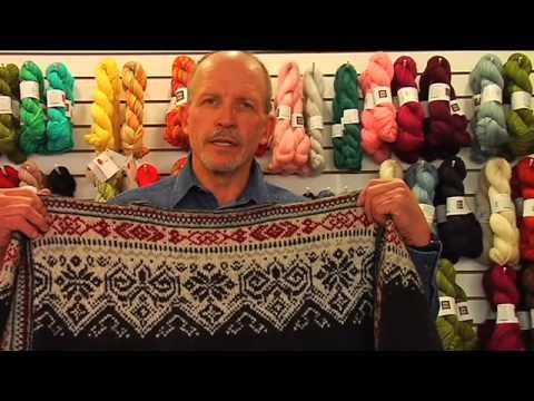 Warren MacNeil, Man Knitter
