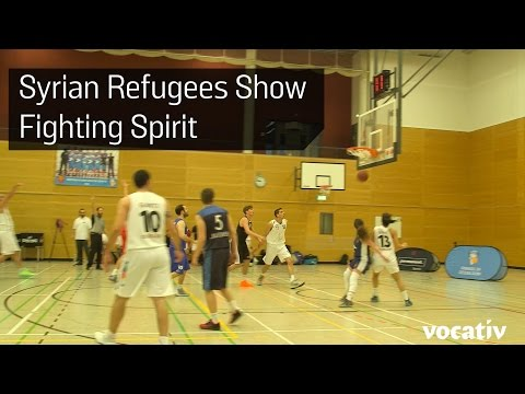 Syrian Refugees In Europe Unify Through Their Love Of Basketball