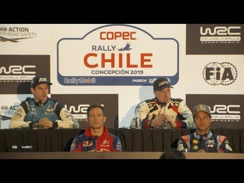 WRC - Copec Rally Chile 2019: Pre-Event Press Conference