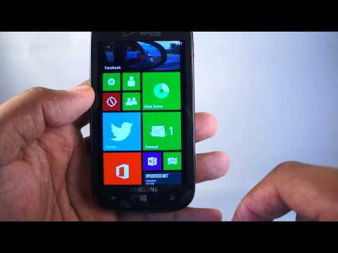 Samsung ATIV Odyssey Review (Verizon Windows Phone 8)