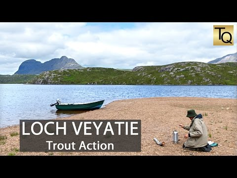Fly Fishing For Trout In Scotland - Loch Veyatie: Mayfly Time