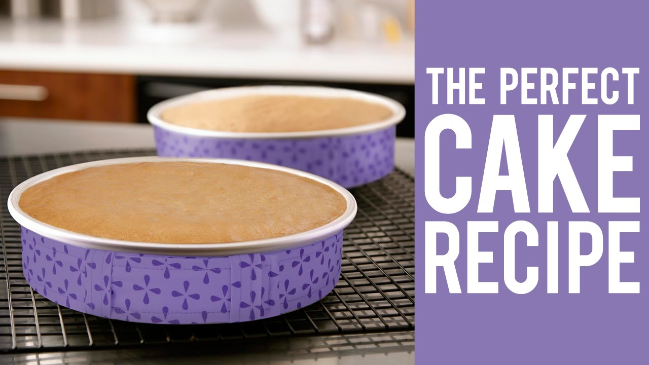 How to Make a Cake The Perfect Recipe for Decorators YouTube