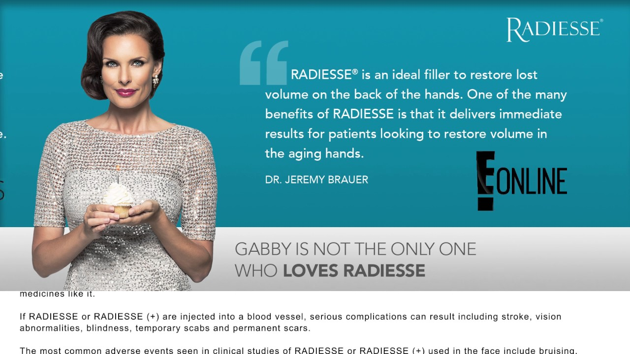 See the rave reviews about RADIESSE® from E! & Modern Aesthetics!