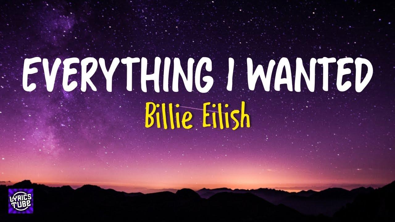 Billie Eilish - Everything I Wanted ( Lyrics ) 🎼 - YouTube