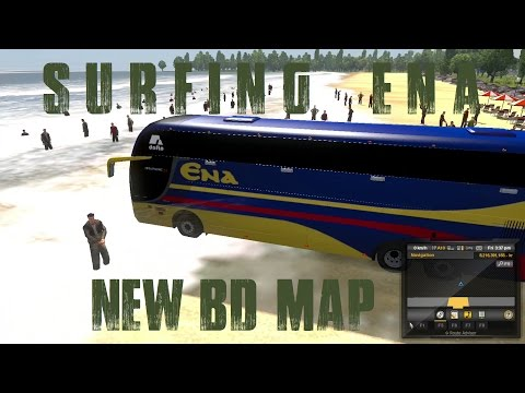 Dhaka to Cox's Bazar Via Chittagong | Reckless Ena | Euro Truck Simulator 2 New BD map | Bangla Mod
