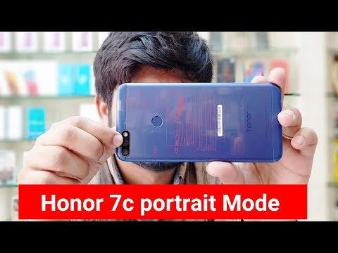 Honor 7c portrait mode   Honor 7c camera test