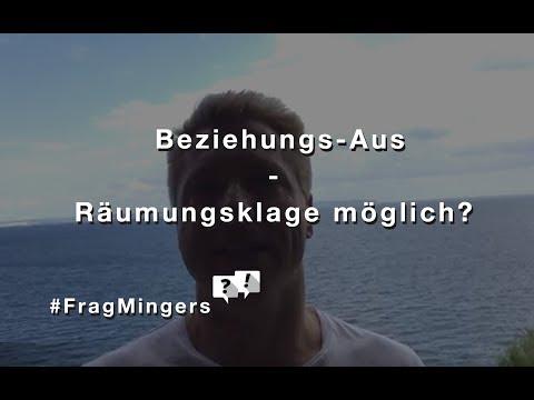 Räumungsklage nach Beziehungs-Aus: Ex einfach rauswerfen? #FragMingers