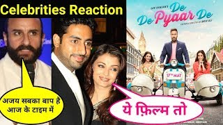 De De Pyaar De Movie Celebrities Reaction | De De Pyaar De | Celebrities Review And Reaction