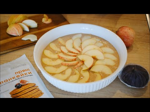 Яблочная шарлотка из смеси с корицей Ginger And White