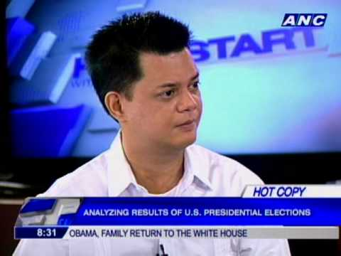Quezon weighs in on Obama victory