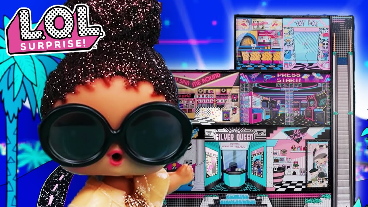 L.O.L. Surprise! O.M.G. Dolls House Exclusive Tour with Boss Queen!