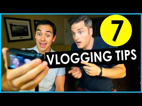Vlogging Tips – How To Grow A Vlog Channel (7 Tips)