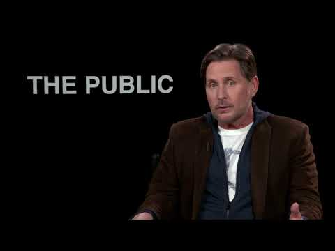 Emilio Estevez Talks About Writing The Public   Own It Now On Blu-Ray, DVD & Digital