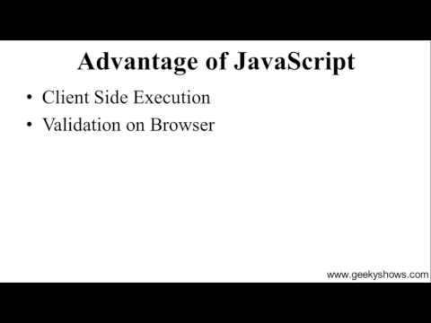 Advantage And Disadvantage Of JavaScript (Hindi)