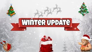 LOT Of Exciting Stuff In The WinterUpdate | Clash Of Clans