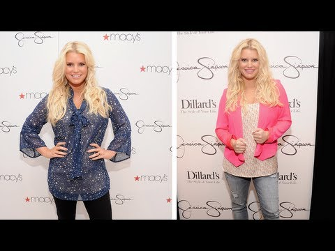 Jessica Simpson Weight Loss Revealed - 60 Pounds With Weight Watchers!