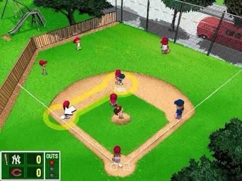 backyard baseball 2001 demo youtube
